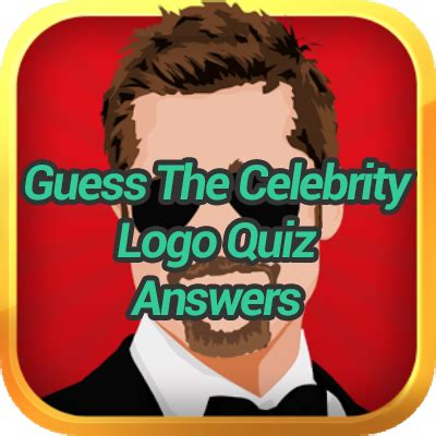 guess the celebrity guess the celebrity logo quiz answers game solver