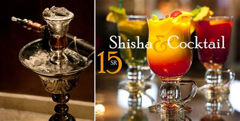 Shisha Coktail enjoy shisha and cocktail with your friends