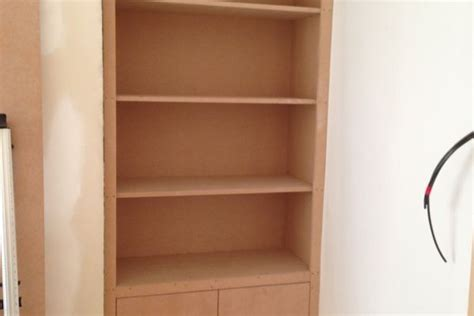 Shelf Mdf by Building Projects Mdf Cupboards And Shelving