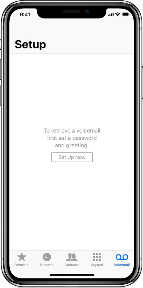Iphone Voicemail by Set Up Visual Voicemail On Your Iphone Apple Support