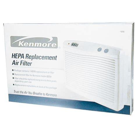 kenmore    replacement hepa filter  large room air