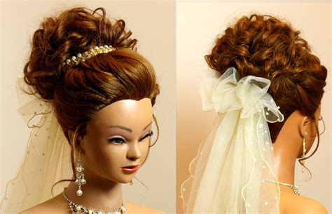 wedding hair up tutorials bridal hairstyle for medium hair tutorial