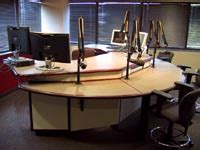 radio studio desk designcraft broadcast furniture
