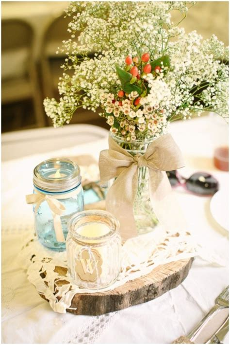 rustic vintage wedding on a budget rustic wedding on a budget bodas vintage centros de mesa y centro