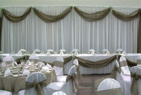 head table draping pin by rena richardson on mandle pinterest