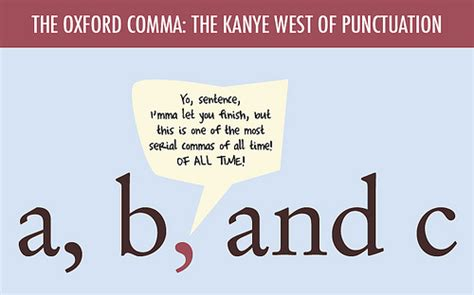 Comma Meme - the oxford comma the kanye west of punctuation flickr