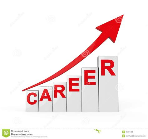 career ladder isolated royalty free stock image image