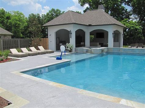 cool pool designs outdoor design trend 23 fabulous concrete pool deck ideas