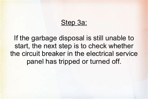 garbage disposal not working easy steps to solve your problem