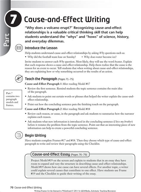 Exle Of Cause And Effect Essay Outline by 2 Cause And Effect Essay Exles That Will A Stir For How To Write 15 Interesting Resume On