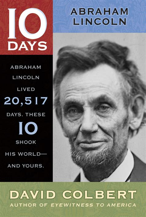 abraham lincoln biography read online abraham lincoln book by david colbert official
