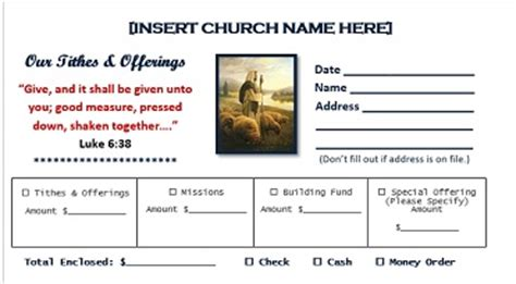 Church Offering Envelope Templates Church Offering Envelopes Templates Free