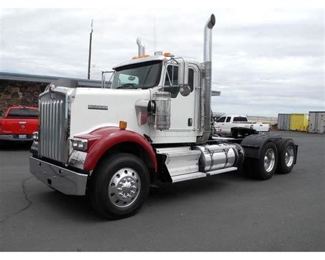2012 kenworth w900 for sale 2012 kenworth w900 day cab truck for sale pendleton or