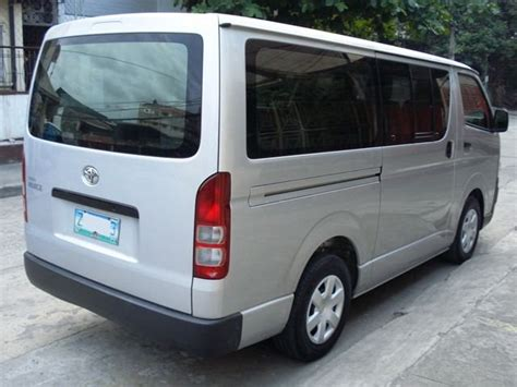 Toyota Hiace Second For Sale Philippines 2005 Toyota Hiace For Sale From Manila Metropolitan Area