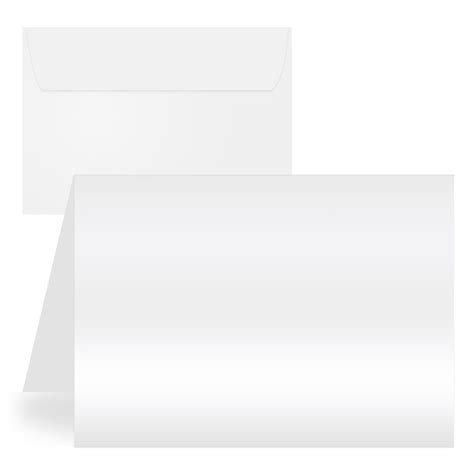 printable blank greeting cards with envelopes blank white glossy matte printable note cards with