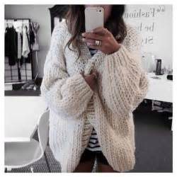 smores cream chunky knitted cardigan pink boutique
