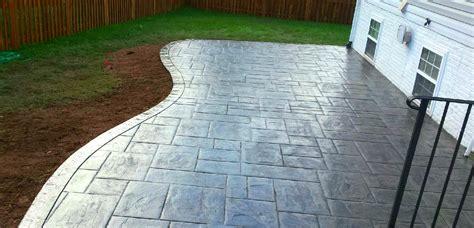 Curved Patio - curved concrete patio blackwater concrete