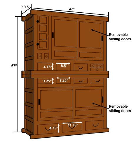 pdf diy plans for pantry cabinet plans horizontal