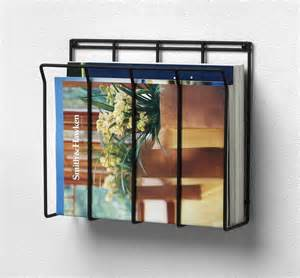 Bathroom Magazine Rack With Shelf Wall Mounted Magazine Rack File Holder Bathroom Organizer