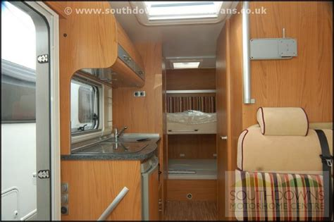 rvs with bunk beds southdowns new burstner aviano i610 bunk bed motorhome