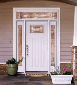 White Exterior Doors Feather River Door Fiberglass Entry Doors Smooth White
