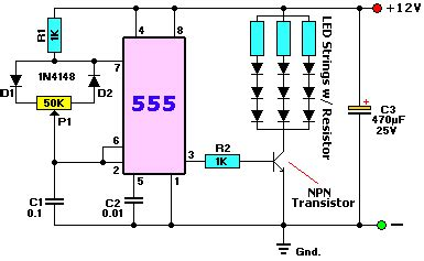 rgb led circuit diagram help with 555 and dimming rgb led
