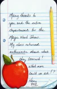 Letters For Teachers letter