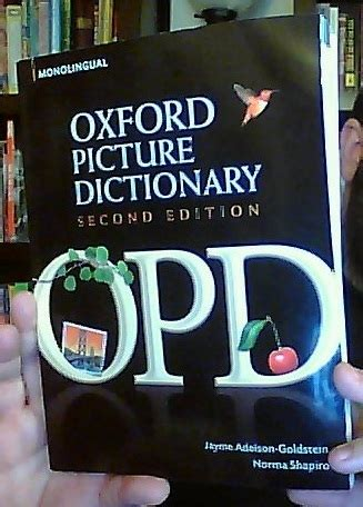 oxford picture dictionary monolingual english oxford picture dictionary monolingual english jayme adelson goldstein norma shapiro