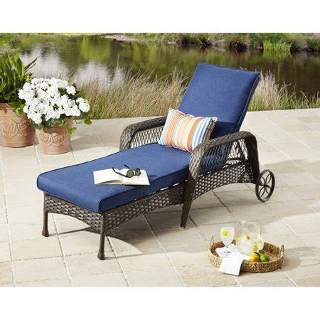 pool lounge chairs walmart better homes and gardens colebrook outdoor chaise lounge