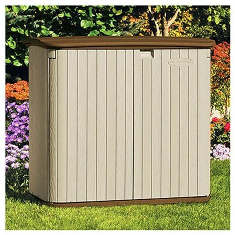 Suncast Shed Manual by Outdoor Horizontal Storage Sheds Quality Plastic Sheds