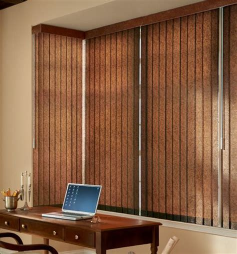 Vertical Blinds Patio Doors Bali 174 Premium Faux Wood Vertical Blinds Woods Sliding Door And Sliding Door Window Treatments