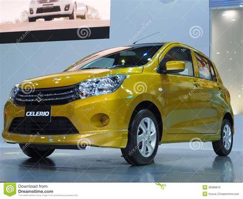 Suzuki Motor Thailand Co Ltd Suzuki New Compact Car Celerio Editorial Stock Image