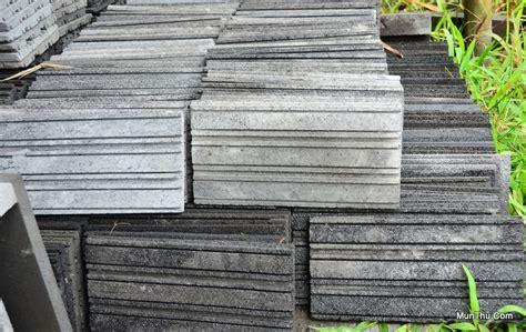 Pemotong Ubin Ubin Tegel Batu Candi Pemotongan Batu Alam Merapi