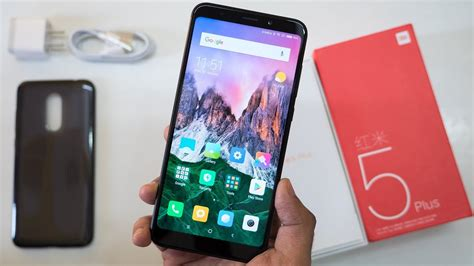 Xiaomi Redmi 5 Plus Black xiaomi redmi 5 plus 64gb black android 8 1 0