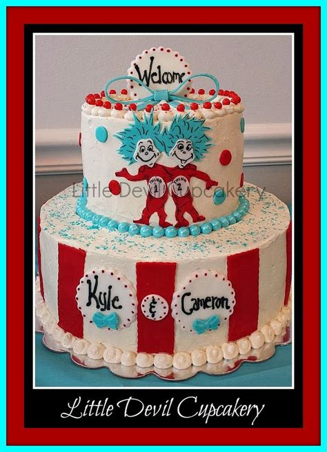 Thing 1 And Thing 2 Baby Shower Supplies by 17 Best Images About Birthday Dr Seuss On