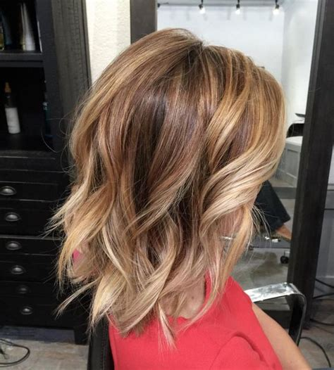 cute hairstyles for highlights kimjette bobs beach waves and highlights