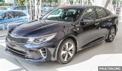 05 Kia Optima by Kia Optima Gt Arrives In Malaysia 2 0l T Gdi With 242 Hp