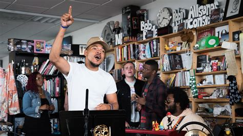 npr tiny desk concert chance the rapper tiny desk concert npr