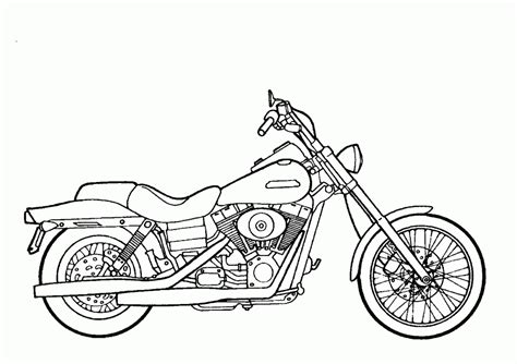 simple motorcycle coloring pages easy harley motorcycle coloring pages printable easy