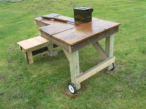 how to build a shooting bench out of wood woodworking bench top design online woodworking plans