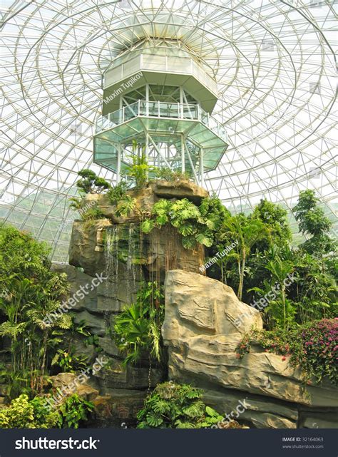 botanic garden china indoor botanical garden dalian china stock photo 32164063