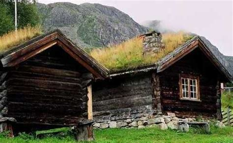 Sod Roof Cabin by Green Roof Design For Small Cabins Ahead Of Its Time