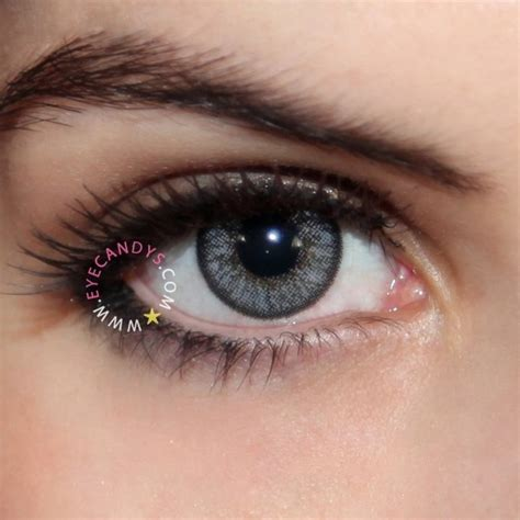 Eyecandy Blue Grey royal vision color grey color contacts colors and