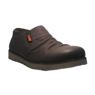 Sepatu Icon Wringkle High Brown Casual d island blibli