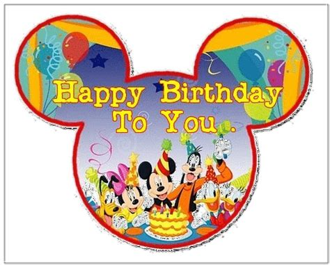 mickey mouse happy birthday images mickey mouse happy birthday www imgkid com the image