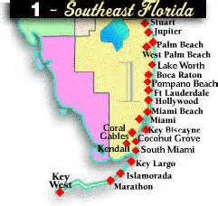 map of se florida southeast florida golf absolutely florida
