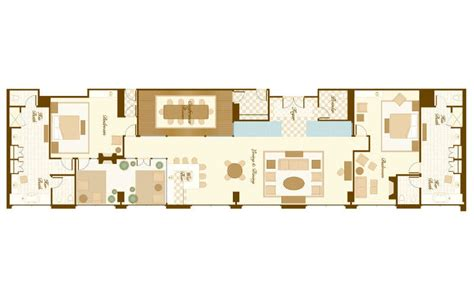presidential suite floor plan bellagio rooms suites