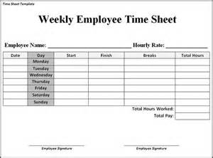 Clock In Sheet Template by Time Sheet Template Search Business