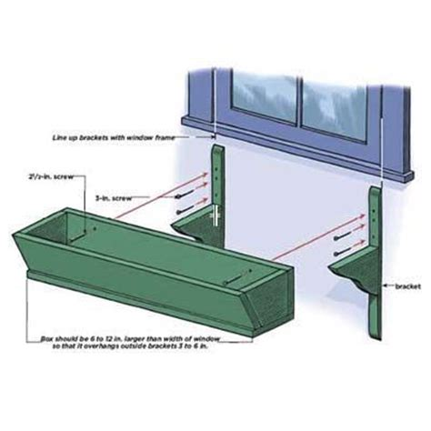 Window Planter Box Plans by 25 Best Ideas About Planter Box Plans On Diy