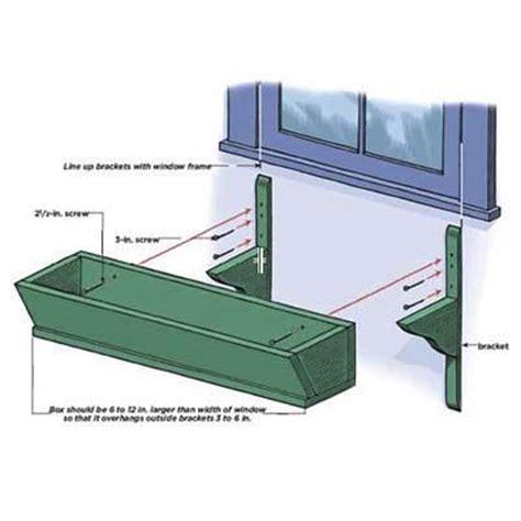 window planter boxes plans 25 best ideas about planter box plans on diy